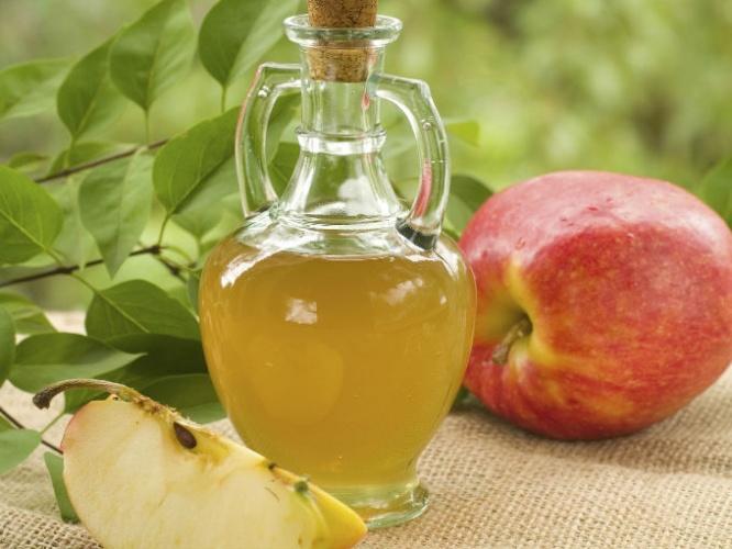 vinagre de manzana para la cara