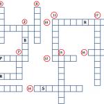 Cómo hacer un crucigrama