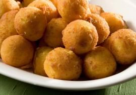 Cómo preparar bolas de puré de patatas