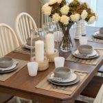 Cómo decorar una mesa de comedor