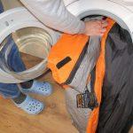 Cómo lavar una chaqueta de plumas